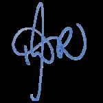 Tanya Warnecke Unterschrift gross